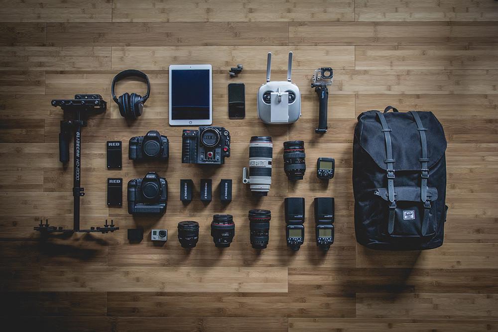 Un buen equipo fotográfico abulta y pesa
