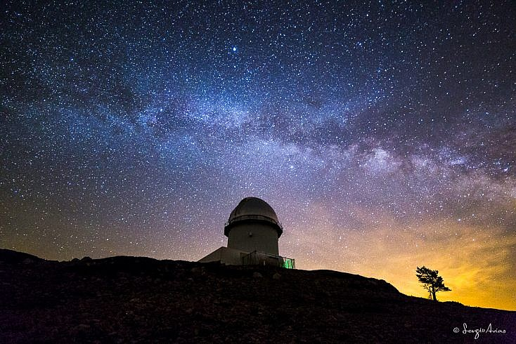 ¿Cuándo se ve la Vía Láctea?