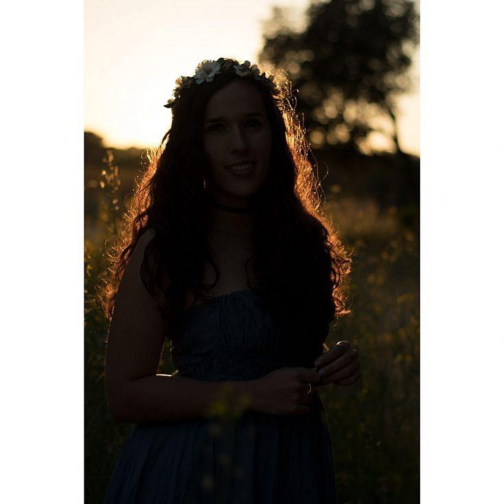 Retrato en exterior con luz natural
