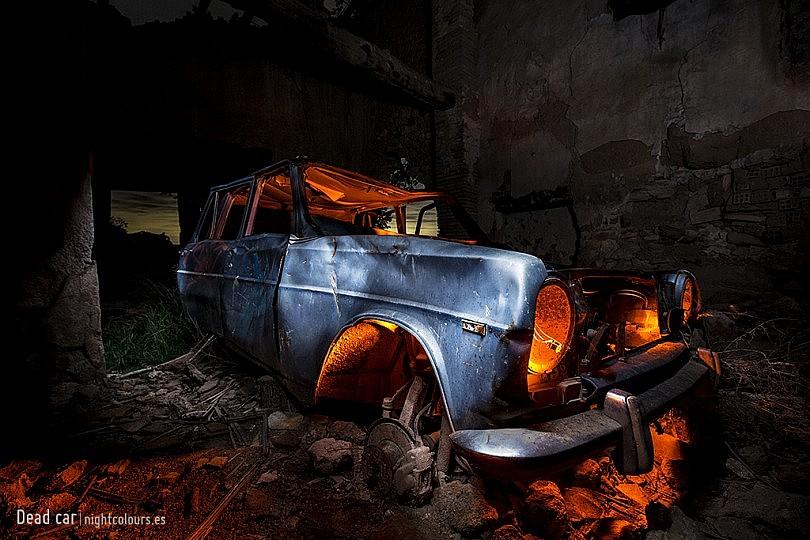 Las luces en fotografía nocturna de larga exposición