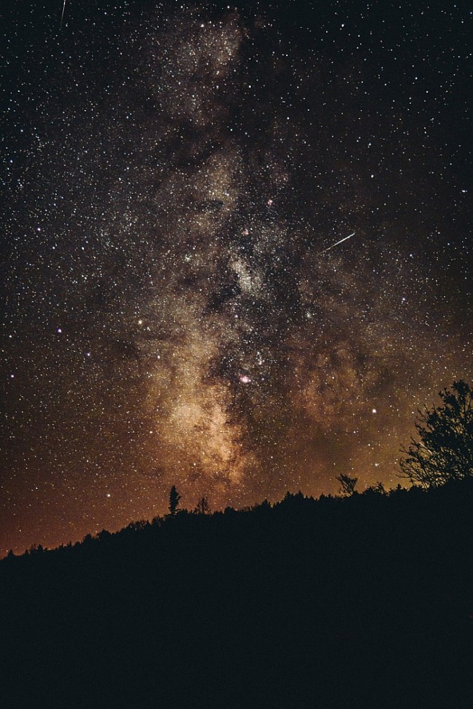 El increíble cielo de noche