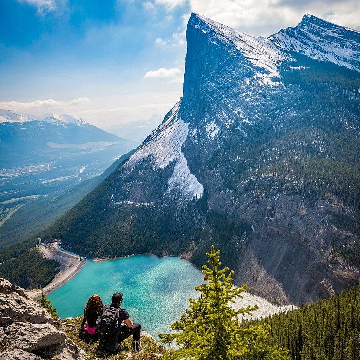 Potencia la inmensidad del paisaje