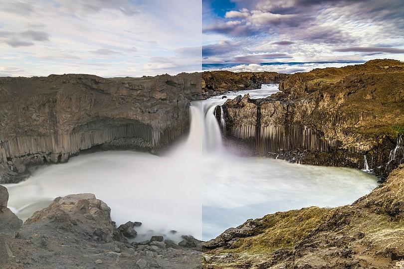 Cómo retocar diferentes fotografías de paisaje en Lightroom