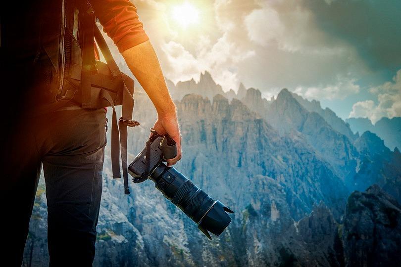 Fotografiar paisajes: ¿Prefieres usar un gran angular o un teleobjetivo?